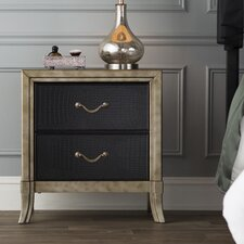 Landis 2 Drawer Nightstand by Simmons Casegoods