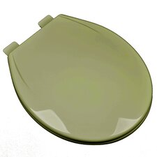 Slow Close Plastic Contemporary Round Toilet Seat