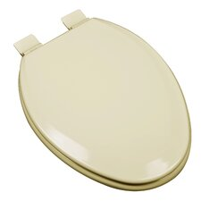 Premium Molded Wood Elongated Toilet Seat