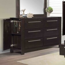 Lakelyn 6 Drawer Dresser
