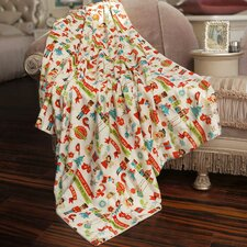 Christmas Holiday Throw Blanket