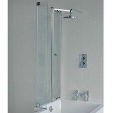 Eco 145 cm x 82 cm Hinged Bath Screen
