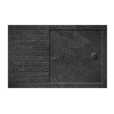 Walk-in Anti-Bacterial and Slate Effect Shower Tray