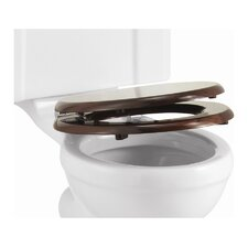 Wooden Soft-Close Toilet Seat