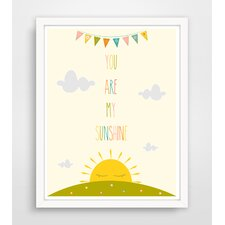 You Are My Sunshine Paper Print