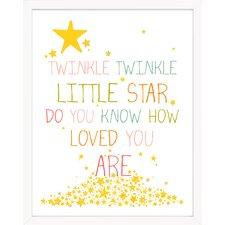 Twinkle Twinkle Little Star Paper Print