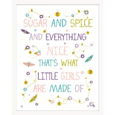 Sugar and Spice and Everything Nice Paper Print
