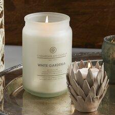 Hertitage White Gardenia Jar Candle