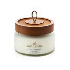 Hertitage Aqua Marine Jar Candle