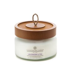 Hertitage Lavender & Fig Jar Candle