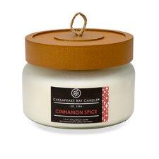 Hertitage Cinnamon Spice Jar Candle