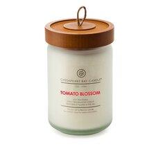 Hertitage Tomato Blossom Jar Candle