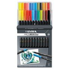 Lyra Dual Tip Marker, 24 Per Pack