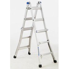 13 ft Aluminum Telescoping Multi-Position Ladder