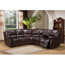 West Coast Leather Sectional