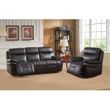 Rushmore 2 Piece Leather Living Room Set