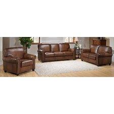 Aspen 3 Piece Leather Living Room Set