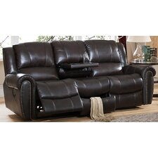 Charlotte Leather Recliner Sofa