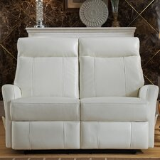 Toledo Leather Reclining Loveseat