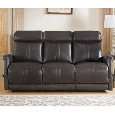 Mosby Leather Reclining Sofa