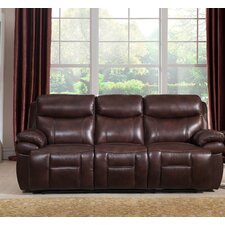 Sanford Leather Reclining Sofa