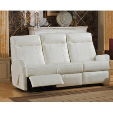 Toledo Leather Reclining Sofa