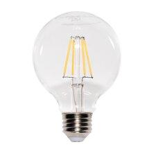 7W E2/Candelabra LED Light Bulb Pack of 6 (Set of 6)