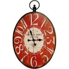 Oval Big Numbers Clock