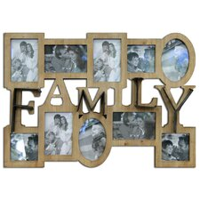 Family Decorative Wooden Picture Frame