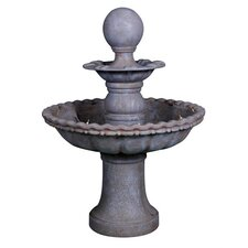 Polyresin 2 Tier Fountain