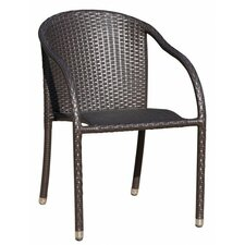 Riga Aluminium Stacking Chair Set (Set of 2)