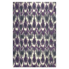 Allure Horizon Grey & Purple Area Rug