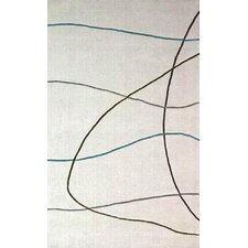 Transitions Ivory Visions Area Rug