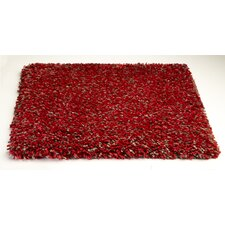 Bliss Heather Red Area Rug