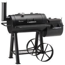 Holzkohle-Smoker Tennessee mit 2 Kammern