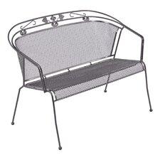 2-Sitzer Gartenbank aus Stahl