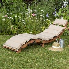 Gartenliege Ipanema mit Auflage