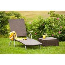 2 Piece Deck Chair Set