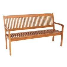 3-Sitzer Bank Cambridge aus Holz