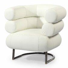 Bibendum Leather Barrel Chair
