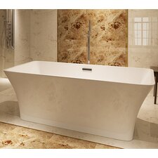 "HelixBath Parva 59"" x 29.5"" Soaking Bathtub"