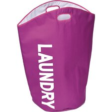 Polyester Open Top Laundry Hamper Bag