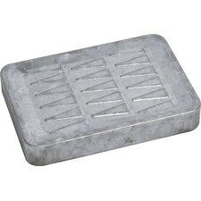 Retro Galvanized Metal Bath Soap Dish