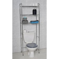 "24"" x 68.5"" Free Standing Over The Toilet"