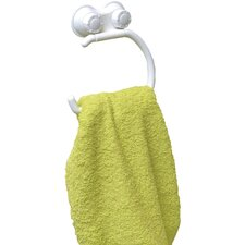 Suction Mounted Bath Towel Ring