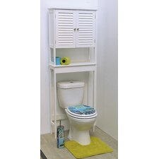 "Florence 24.8"" x 68.1"" Free Standing Over the Toilet"