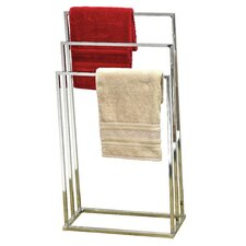 Freestanding Tube Holder Towel Rack