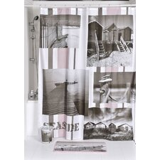 Seaside Printed Shower Curtain