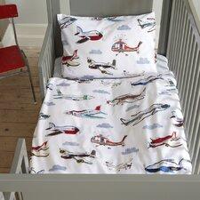 Kinderbettwäsche Set Flight aus Renforce (100% Baumwolle)