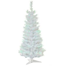 3' White Artificial Christmas Tree with Plastic Stand